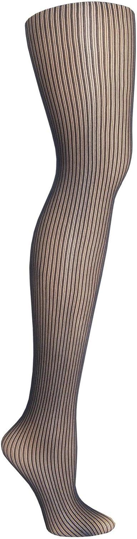 Micro Ribbed Fashion Tights