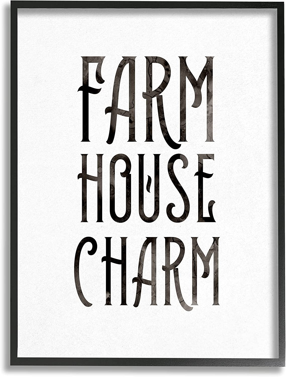 Stupell Industries 5 ☆ very popular Farm House Charm Abstract Patter San Francisco Mall Grain Phrase