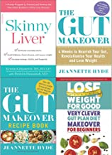 Skinny liver, gut makeover, recipe book and very clever gut diet 4 books collection set
