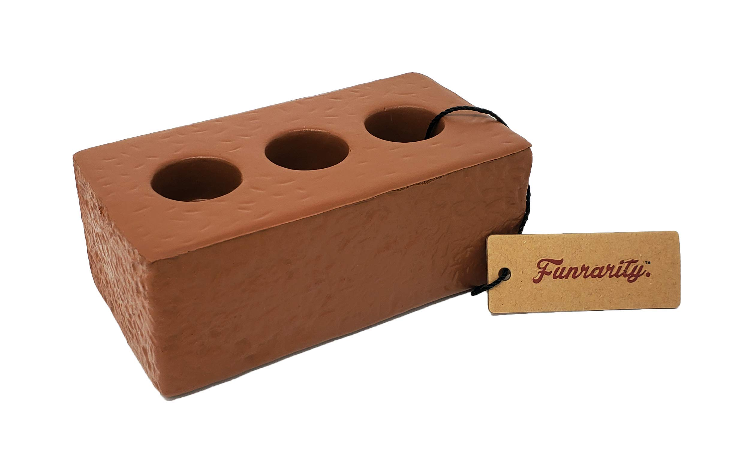 Funrarity Squeezy Squeezable Brick Stress Toy