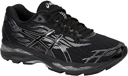 ASICS Gel-Ziruss Hommes FonctionneHommest T7J1N paniers Chaussures (UK 10.5 US 11.5 EU 46.5, noir argent 9090)