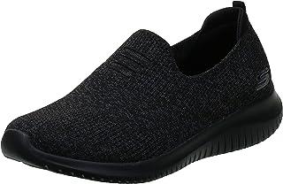 Skechers Ultra Flex Womens Road Running Shoes, Black, 6 UK (39 EU)