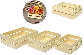 Wood Craft: Crate Caddy Set 3/Set - Small (1)
