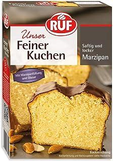 kuchen backmischung RUF Feiner Marzipankuchen mit Füllung und Kakaoglasur 1 x 495 g
