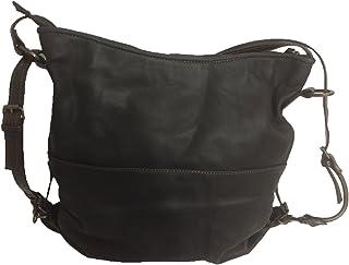 4bb8516e413096 Borsa/Zainetto in pelle modello a 3 versioni: zaino, a spalla oppure a