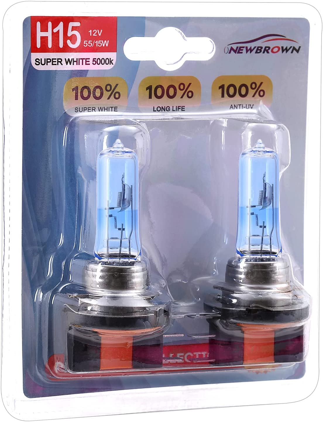 In stock H15 Headlight Bulbs with 40% Super 15 12V Ranking TOP19 PGJ23 55W light White