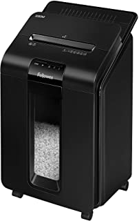 "Fellowes AutoMax 100M Auto Feed Shredder, Black, 26.4"" x 15.4"" x 14.6"""