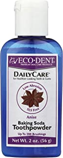 Eco-Dent Daily Care Baking Soda Toothpowder, Anise, 2 oz