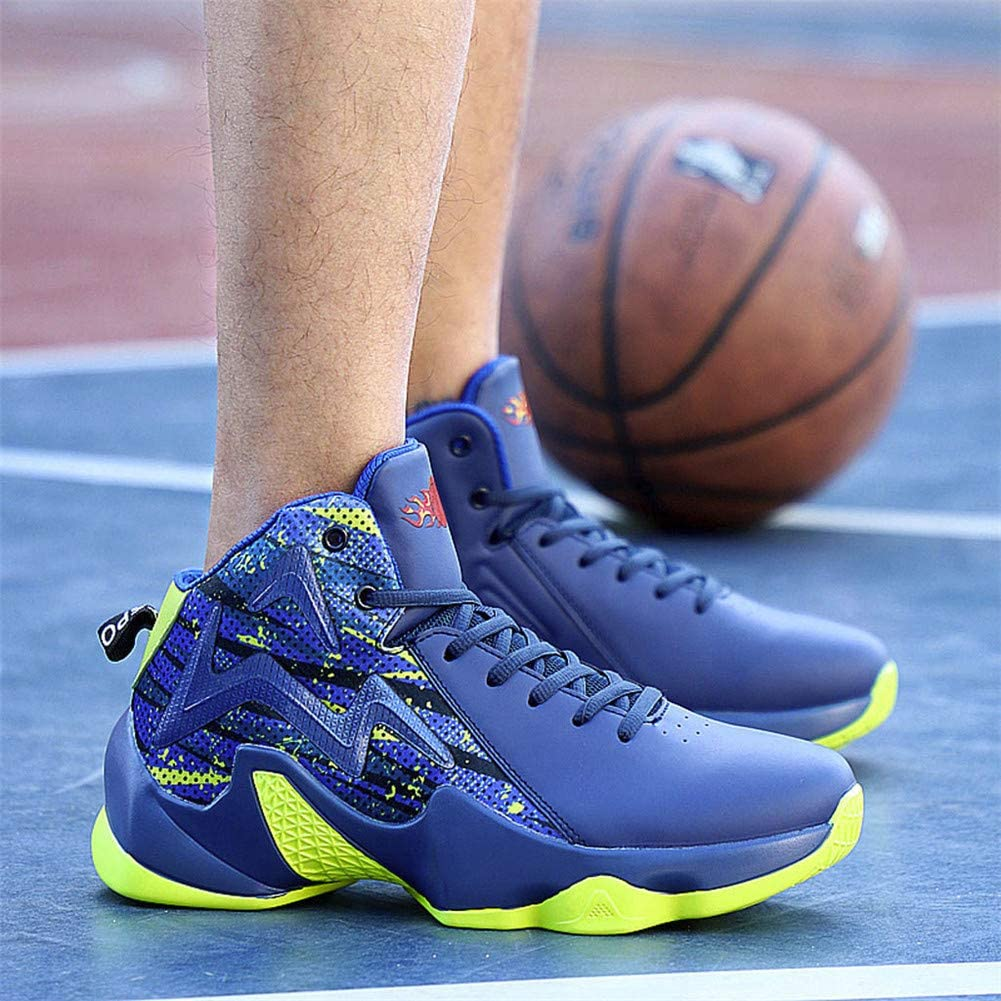 Running Sneakers for Men,Vickyleb Mens Basketball Shoes High-Top Sneakers Outdoor Trainers Durable Sport Shoes