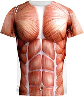 Old Glory Halloween Muscle Anatomy Costume All Over Adult T-Shirt