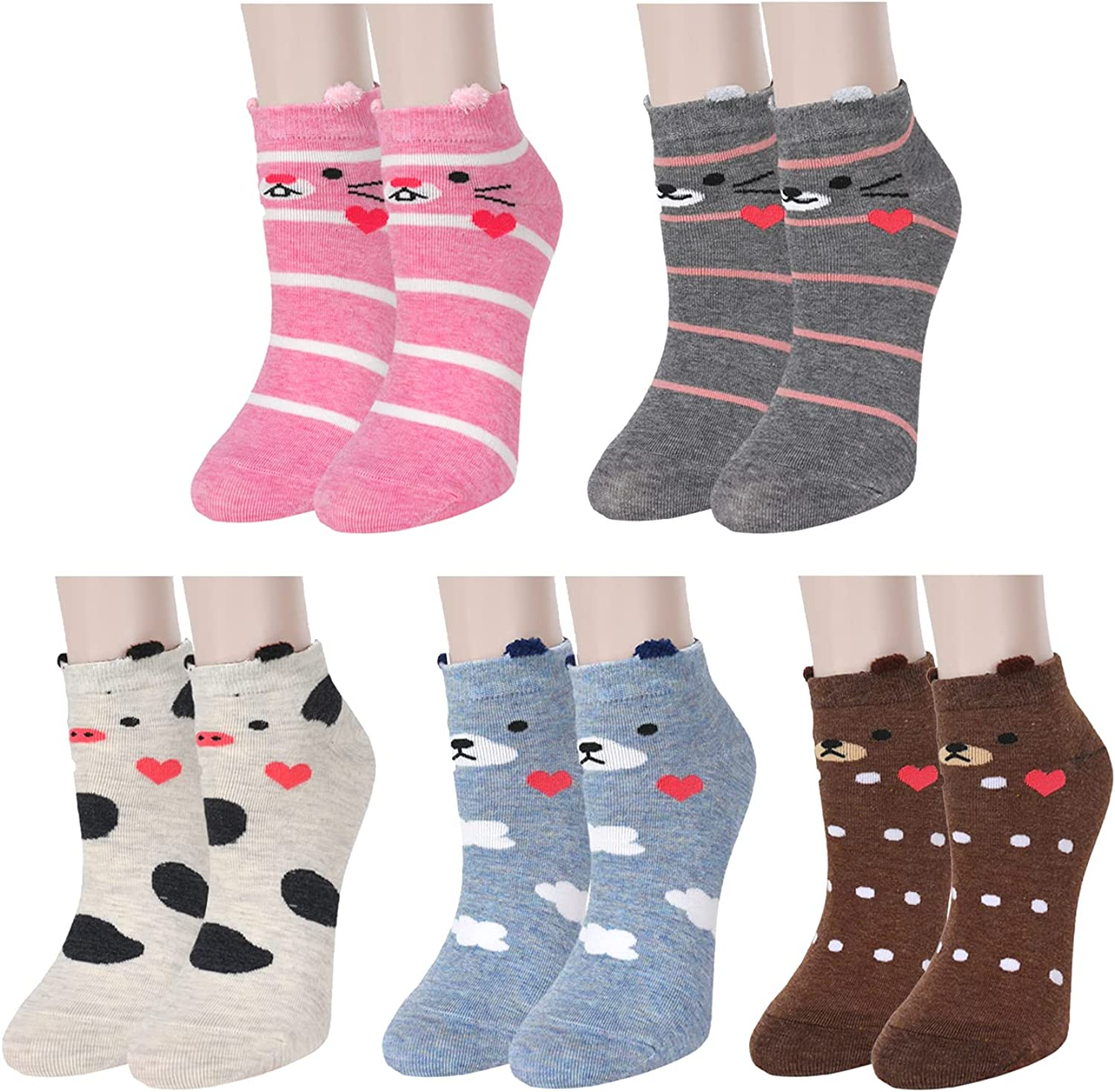 Womens Ankle Socks for Girls Cute Cut Soft Cozy Detroit Mall Popular Cotton Funny Low