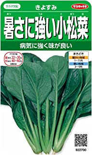 サカタのタネ 実咲野菜2700 暑さに強い小松菜 きよすみ 00922700