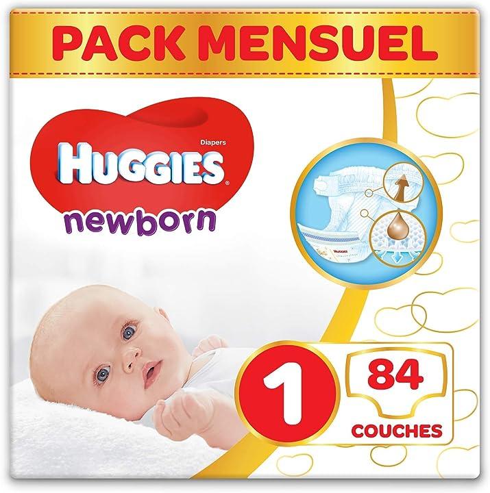 Pannolini per neonato huggies ultra comfort baby 25996