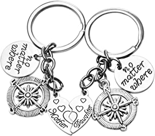 Gifts for Mom Mothers Day Gifts,Keychain from Daughter...