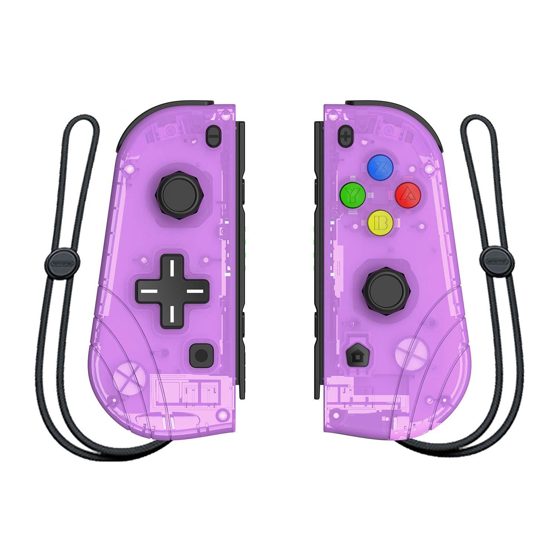 Mando inalámbrico Joy-con para Nintendo Switch, Proslife L/R joycon Switch Remoto Gamepad con Correa para la muñeca Morado: Amazon.es: Informática