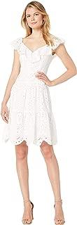 Women's Tiered Eyelet Dress