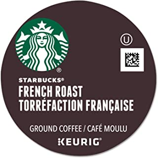 Starbucks French Roast, K-Cup for Keurig Brewers, 24 Count (Pack of 4)