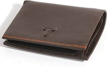 H&J Genuine Leather Wallet for Mens Hybrid Bifold (3 Sizes 2 Colors)