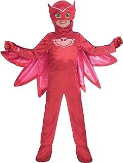 amscan traje PJ Mask KM Luxe (5–6años), Multicolor, 7am9902961