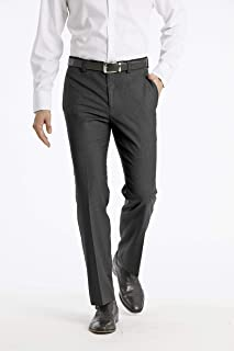 Calvin Klein Men's Modern Fit Performance Flat Front Dress Pant