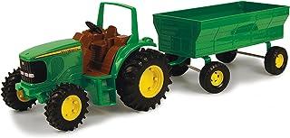 John Deere 1:16 Tractor with Flarebox Wagon
