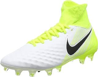 Men's Magista Orden II DF FG Soccer Cleat (Sz. 9) White, Volt