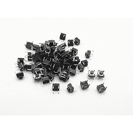 100x Momentary Tactile Tact Push Button Switch 2 Pin DIP 6x6x4.3mm High 4.t3