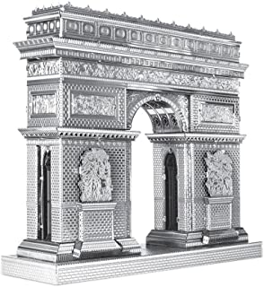 Metal Earth Fascinations ICX005 502886, Arc de Triomphe, Construction Toy 2 Metal Board (Ages 14 +