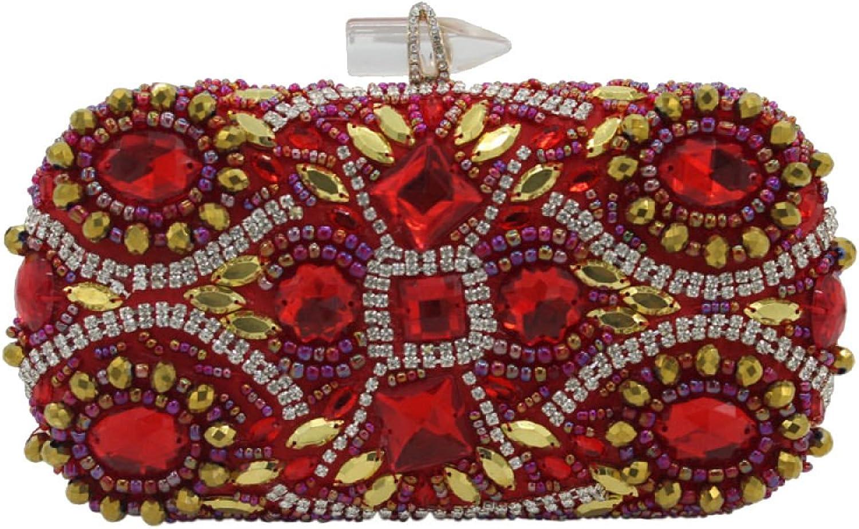 ADEFG Damenmode Abendtasche Luxus Diamant Griff Tasche B076VCRNNV  Feinbearbeitung Feinbearbeitung Feinbearbeitung ce0680