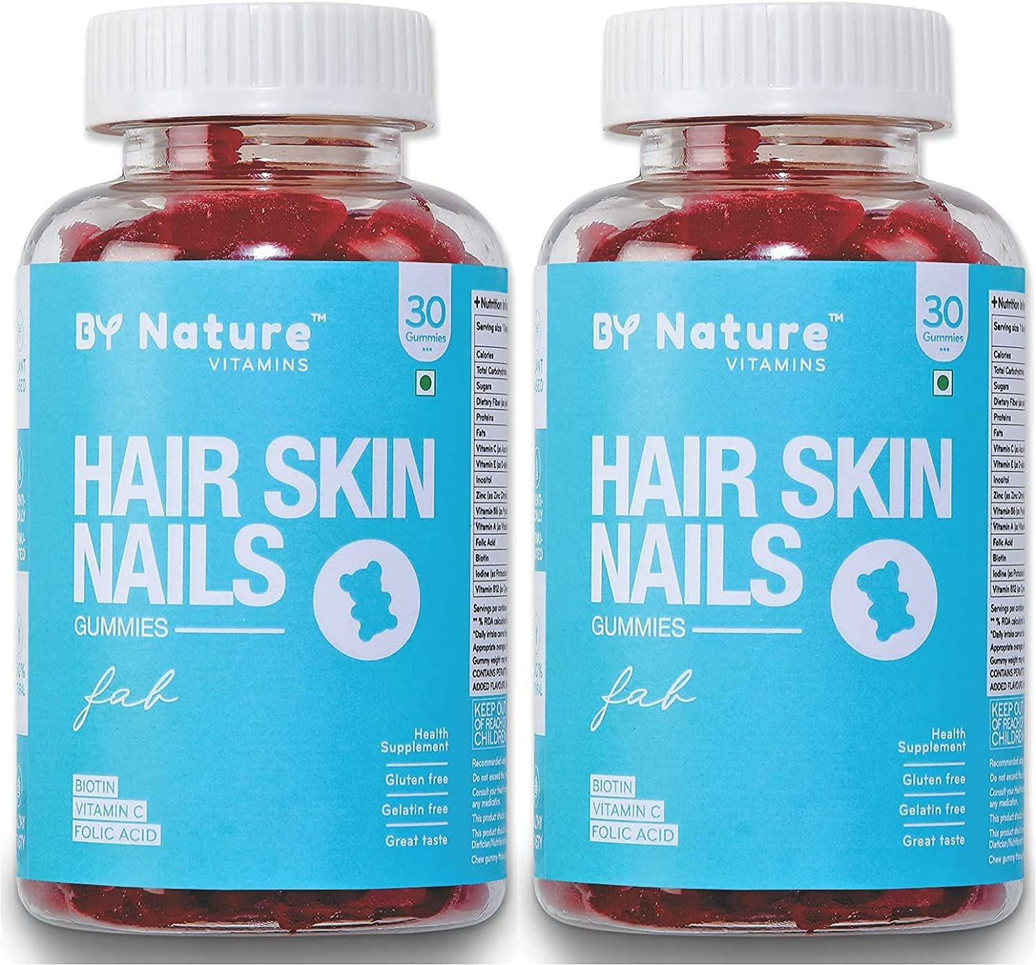 MH mart Group by Nature Hair Skin Vitamin Max 76% OFF Gummies wit - 2 of Pack
