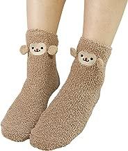 ShengTu Women's Cute Thicken Fuzzy Crew Socks