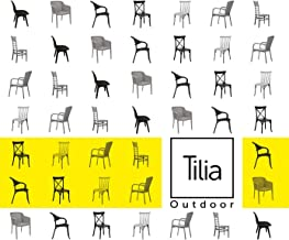 Tilia Outdoor: Chair; Armchair; Table; Sunbed; Table; Bases; Coffee Table; Bar Chair (Outdoor Product Catalog Book 2018)