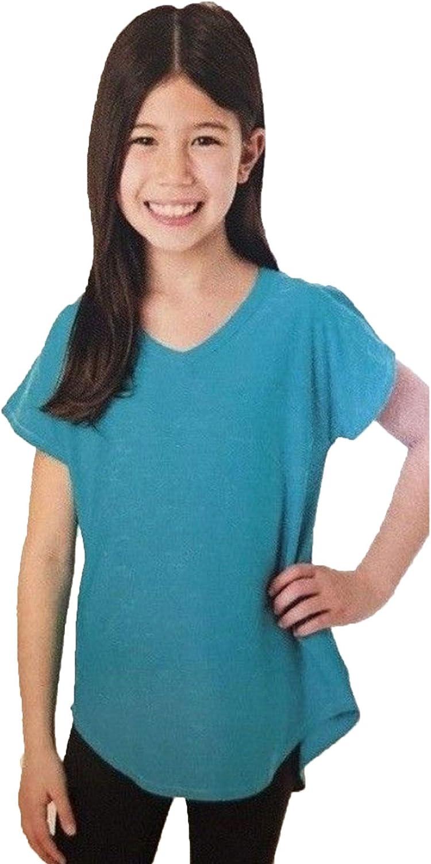 Tuff Athletics Girls Short Sleeve Active Tee