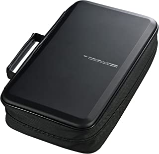SANWA (Japan Brand 104 Large Capacity CD Case, Portable DVD/VCD Storage, EVA Protective Blu-ray Wallet, Binder, Holder, Bo...