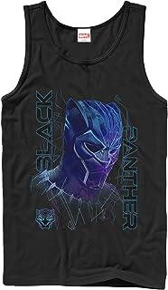 Marvel Men's Black Panther 2018 3D Pattern Tank Top