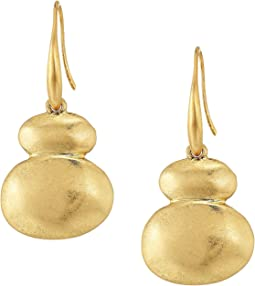 Metal Double Drop Earrings