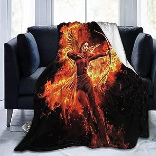 Others Hun-ger Game Kat Ultra-Soft Micro Fleece Blanket 3D Printed Lightweight Throw Blanket for Living Room 50