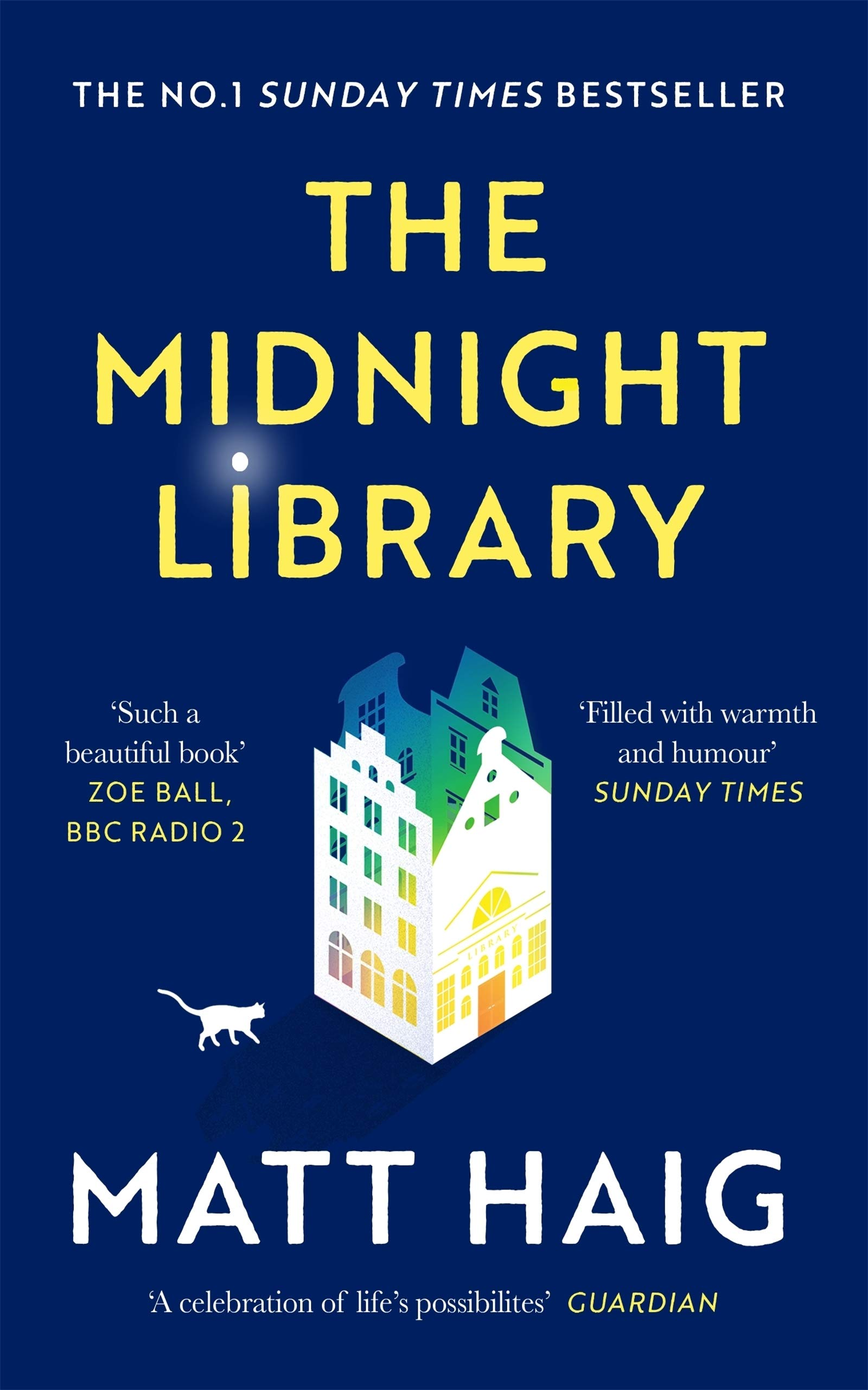 Cover image of The Midnight Library by Matt Haig
