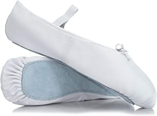 Adult Economy Leather Full Sole Ballet Shoes T1000