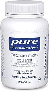 Pure Encapsulations - Saccharomyces Boulardii - Natural Probiotic to Balance Intestinal Flora - 60 Capsules