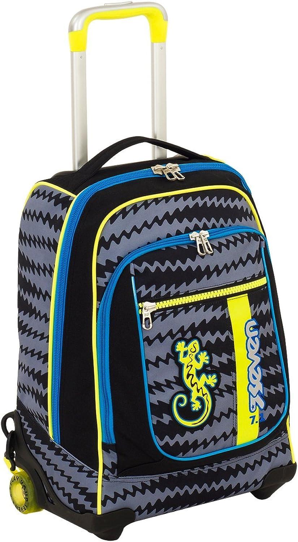 ventas en linea Wheeled Backpack Seven Maxi Round Gecko Boy Boy Boy  entrega gratis