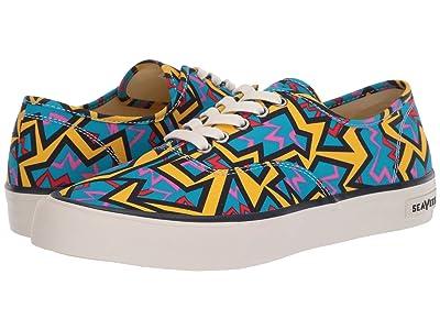 SeaVees Legend Sneaker Hoffman (Blue Neon Confetti) Men