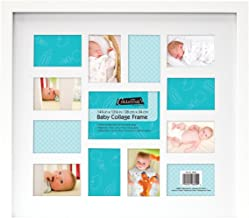 MCS 12 Month Baby Collage Frame, White (46649)