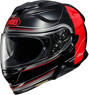 shoei gt air red black