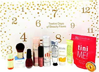 TweIve Days of Beauty Faves│EcoTools Brush Bundled W│Laneige Mask│NYX Lip Cream│Mayfair Cream│Nexus Mist│Sinful Colors│Burts Balm│Tini Me! Bomb│Pacifica Detox│Laneige Mask│Umberto Powder│Acure Day Crm