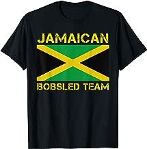 Jamaican Bobsled Team Shirt - Jamaica Flag Bob Sled T Shirt