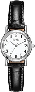 Citizen Eco Drive Black Stainless Steel