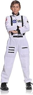 Underwraps Children's Astronaut Costume - White, Medium (6-8)