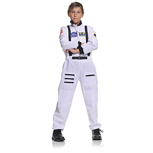cbb9029fb4a Underwraps Children s Astronaut Costume - White
