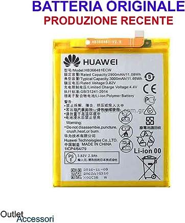 Batteria Pila Originale Huawei P10 LITE HB366481ECW WAS-LX1A OEM Interna BULK CORRIERE RICAMBIO Interno Akku Genuine per Cellulare
